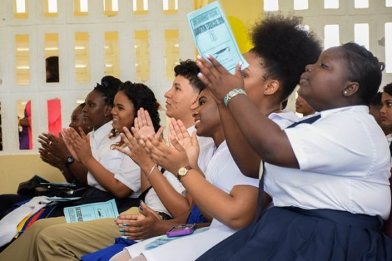 Scenes during Hope Secondary School 2018 graduation.