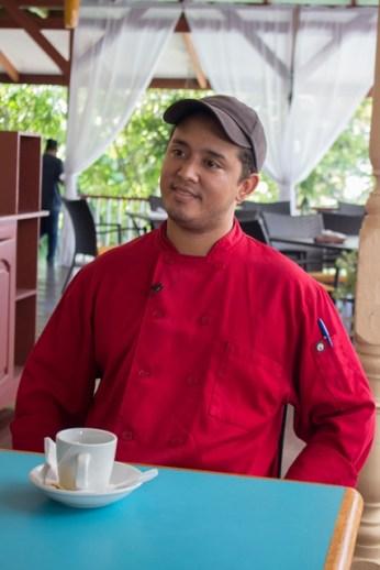 Duke Lodge's Sous-Chef, Alejandro Gudge.