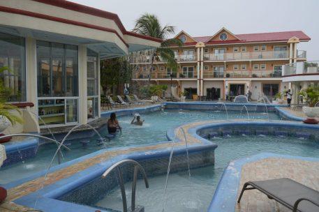 Inside of Aruwai White H2O Water Resort