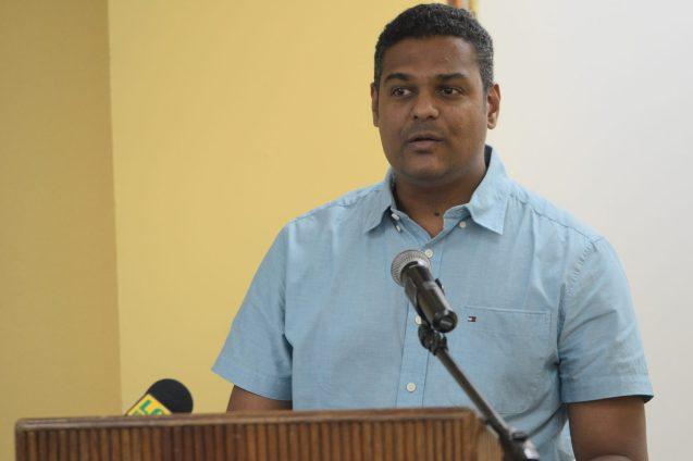 President of the Guyana Bar Association, Kamal Ramkarran