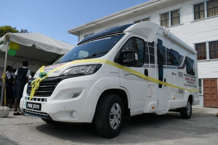 The first ever Mobile Psychosocial Unit will service schools in Region Four
