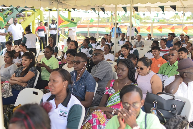 Residents at National Village Day 2018.