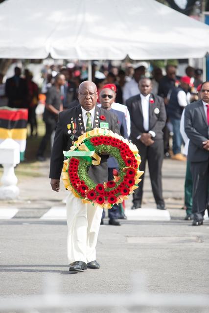 President of Guyana Veterans Legion Lieutenant Colonel (retd.) George Gomes.