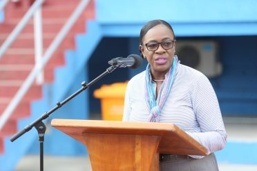 Minister of Education, Dr. Nicolette Henry