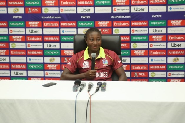 Captain of the West Indies Women team, Stefanie Taylor.