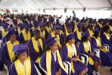 Graduates of President's College Class of 2018.