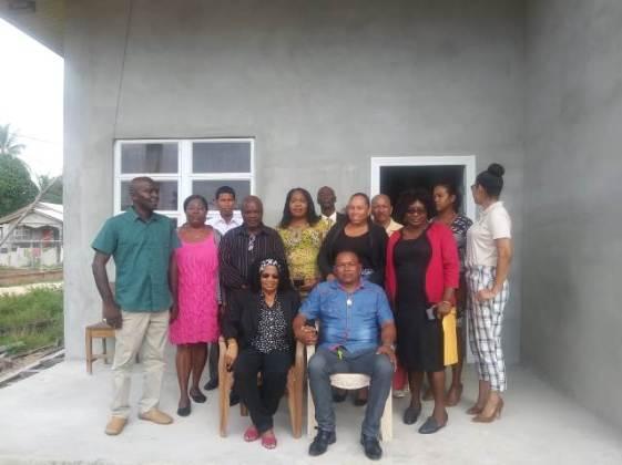 The newly elected Councillors of the Kwakwani NDC.