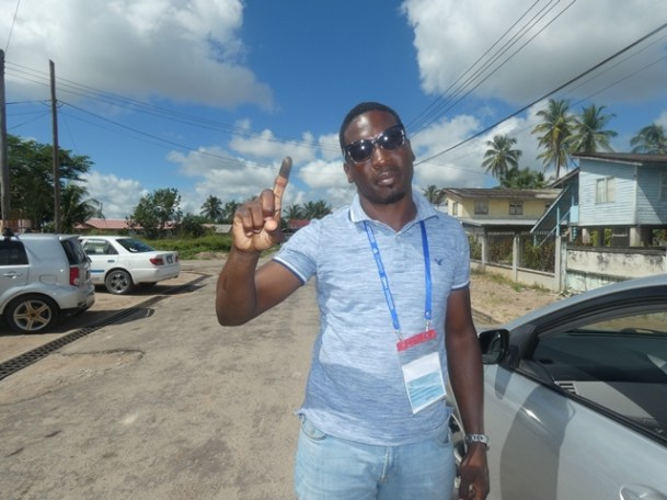 APNU Constituency One candidate, Lawrence Simon.