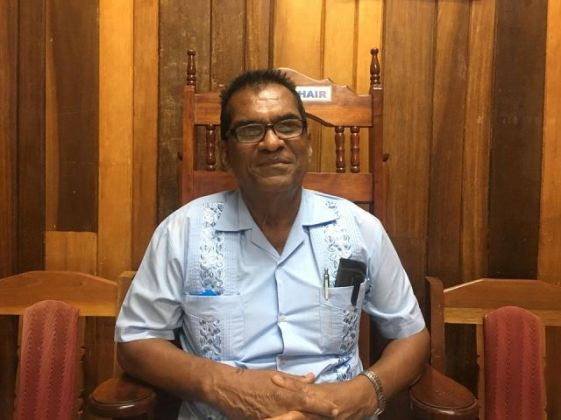 Newly-elected Mayor of Rose Hall Town Chattergoon Ramnauth.