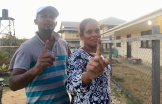 Mr and Mrs Nabbi hopes to see focus on youth and infrastructural development in their community.