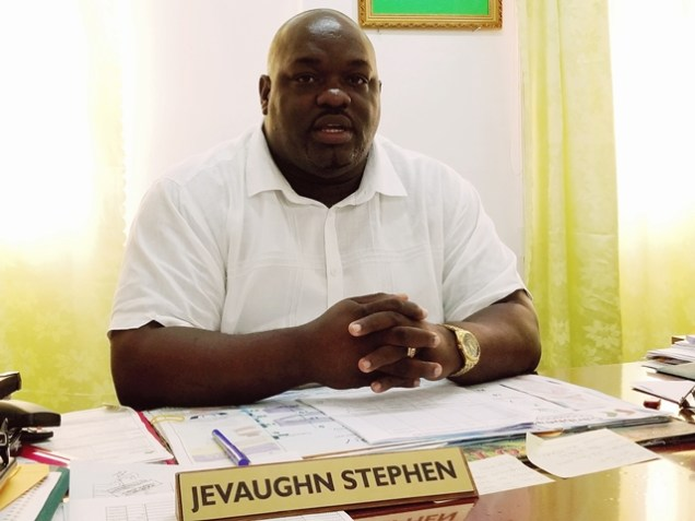 Director of Regional Health Services Jevaughn Andrew Stephen.