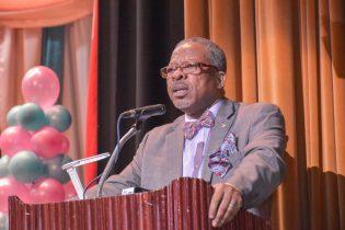Professor Ivelaw Griffith, Principle and Vice Chancellor, University of Guyana (UG)
