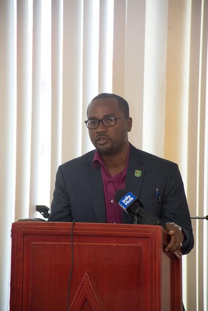 President, Guyana Football Federation, Wayne Forde.