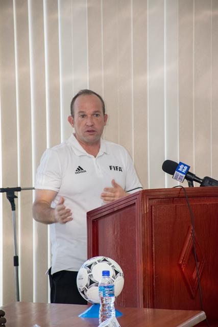 FIFA Futsal Instructor, Shane Butler.