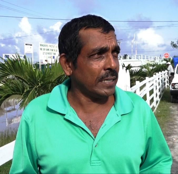Head of the Rice Farmers Association of Region 2, Mr. Nauth Ram
