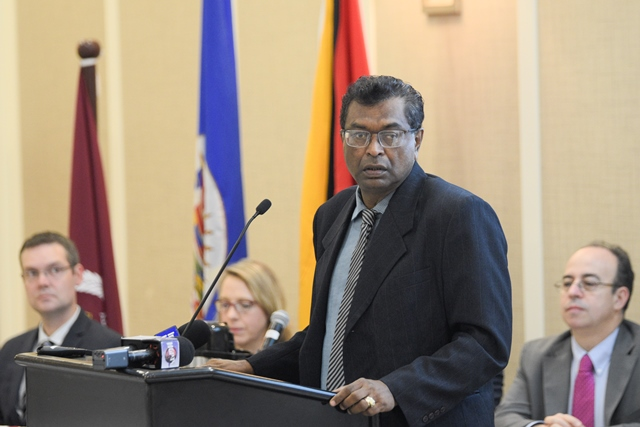 Minister of Public Security, Khemraj Ramjattan.