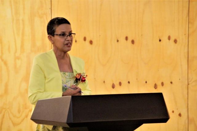 Deputy Chief Education Officer (Admin), Ms. Ingrid Trotman.