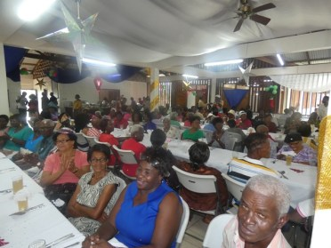 A section of the senior citizens at the gathering.