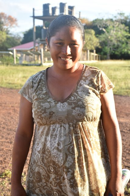 Lorna Andrew, Farmer, Yupukari Village.