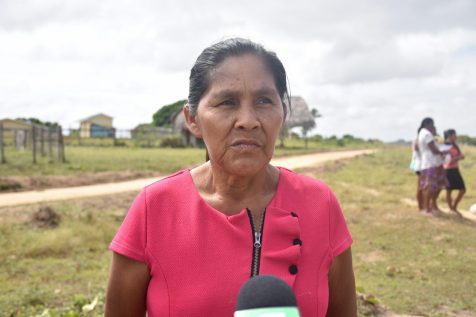 Sandra Rodrigues, one of the members of the Shea Women's Group