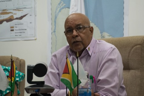 Guyana Water Incorporated (GWI), Managing Director, Dr. Richard Van West-Charles.