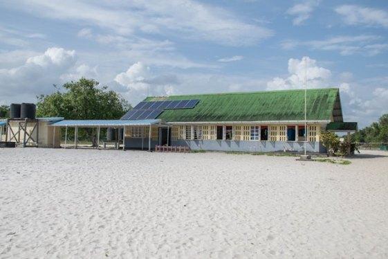 The Sand Hills community in Region Three.