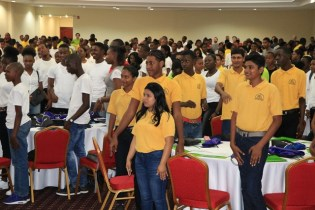 Scenes during the Volunteer Youth Corps Incorporated 6th Annual Science, Technology, Engineering and Mathematics (STEM) conference.