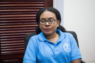 Chairperson of the GPHC Board of Directors, Kesaundra Alves.
