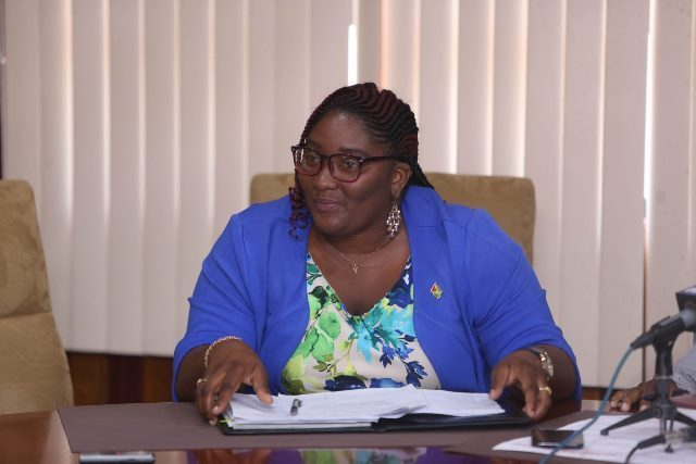 Public Relations Officer of the Guyana Elections Commissions, Yolanda Ward.
