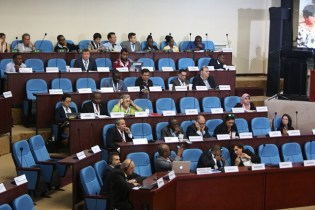 Participants at the conference.