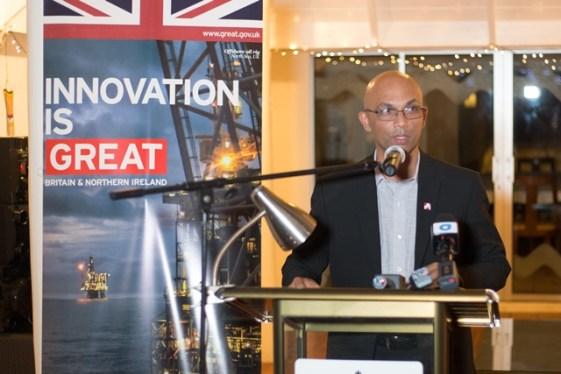 Executive Chairman of Action Invest Caribbean, Vishnu Doerga.