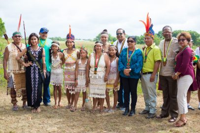 Scenes from the officially launch International Year of the Indigenous Languages in Aishalton Village, South Rupununi, Upper Takutu-Upper Essequibo, Region 9