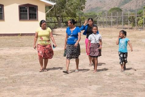 Residents of Toka Village, North Rupununi, Region 9.
