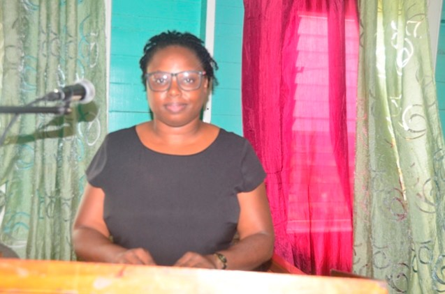 Denise Mckenzie, a social worker and one of the facilitators attached to the Solutions Training Consultancy and Counselling Services (STCCS).