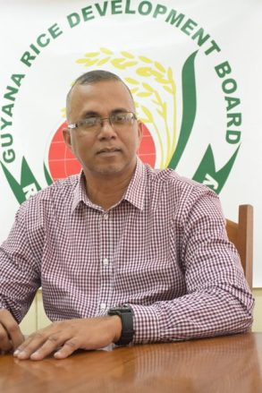 General Manager of the Guyana Rice Development Board (GRDB), Nizam Hassan.