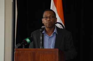 General Manager of the National Data Management Authority (NDMA), Francis Simmons.