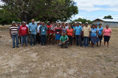 GWI officials and residents of Massara.