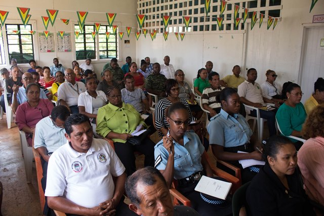 Participants at the Anti-Corruption Sensitization Seminar in Region One.
