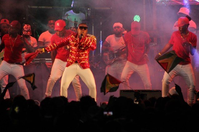 Scenes from the Carib Soca Monarch Competition.