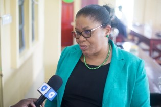 Chief Executive Officer (REO) of Region 6 (East Berbice-Corentyne), Kim Williams-Stephen.