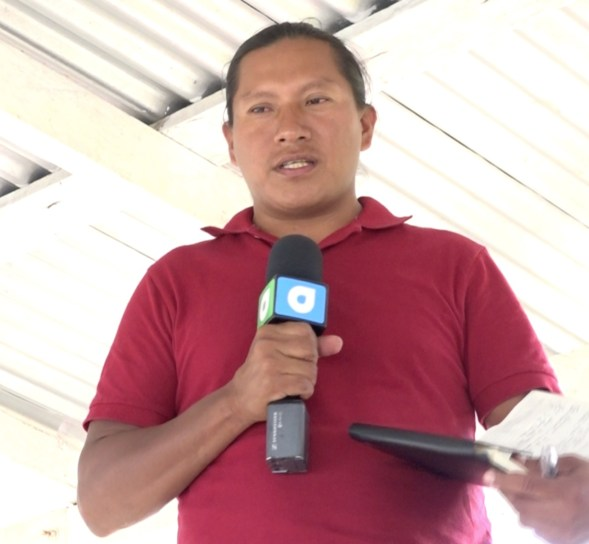 Senior Councillor of Kwatamang Village, Lakeram Haynes
