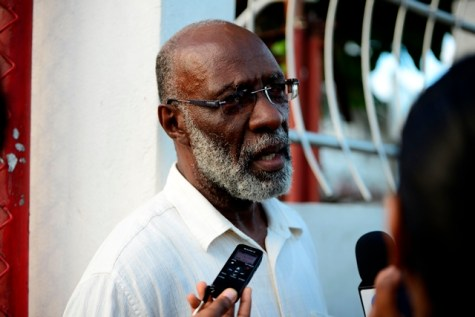 Commissioner of the Guyana Elections Commission (GECOM), Vincent Alexander.