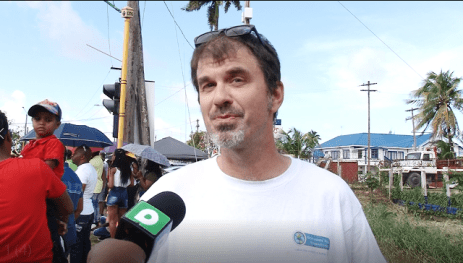 Director of the Guyana Tourism Authority, Brian Mullis chats with Alleya Hamilton.