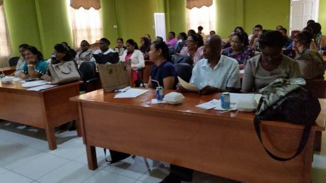 Participants at the Anti-Domestic Violence Seminar.