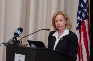 US Ambassador to Guyana, Sara-Ann Lynch.