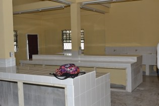 A newly constructed Mess Hall.