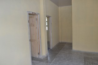 One out of the eight, two bedrooms family living quarters.