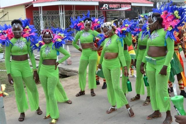 More scenes during Linden's Mashramani Costume and Float Parade.