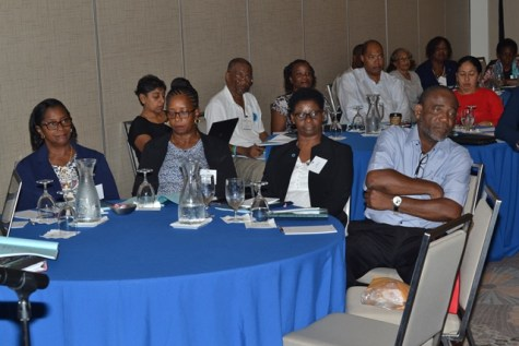 Participant at day one of the International Diabetes Federation – North America and Caribbean Regional meeting.