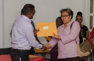 Guyana Responsible Parent Association receiving facility license.